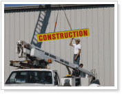 Sign reapair company. From sign installation and removal we do it all.