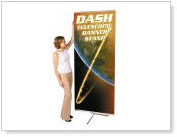 Banner stands  Trade show displays. Full color printed banners.