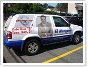 Vehicle wraps, truck lettering and wraps. Professional 3M material installer.